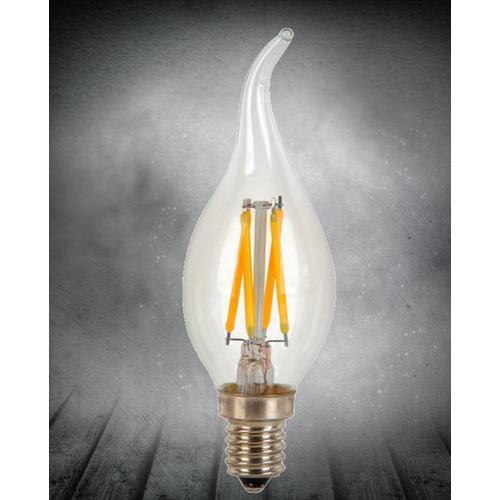 LED лампочка Эдисона C35 4W 2700K Clean прозрачное стекло