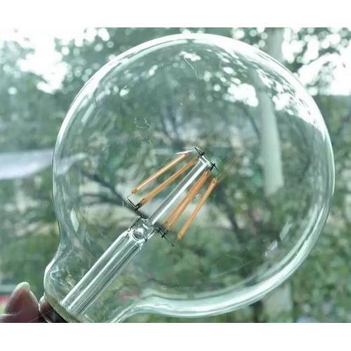 LED лампочка Эдисона 4W Clean прозрачное стекло