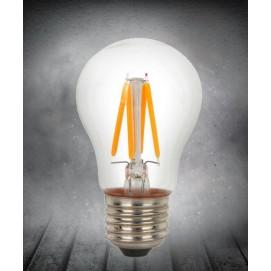LED лампочка Эдисона A50 4W 2700K Clean прозрачное стекло