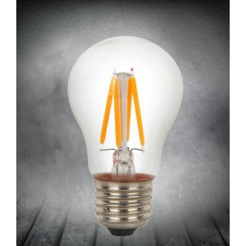 LED лампочка Эдисона A50 4W 2200K Clean прозрачное стекло