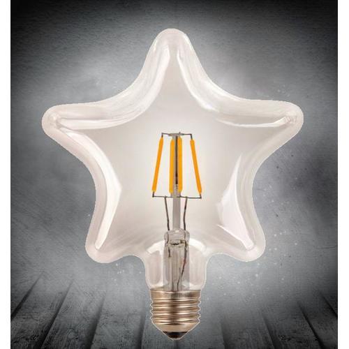 Лампочка Эдисона LED S95 4W 2200K Clean прозрачное стекло