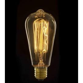 Лампочка Эдисона ST64 Clean прозрачное стекло