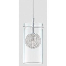 Лампа подвесная Eglo 93112 Lamas прозрачная