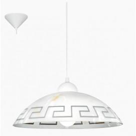 Лампа подвесная Eglo 82786 Vetro белая