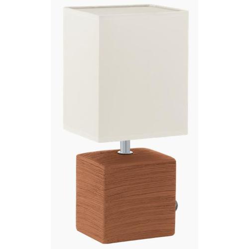 Лампа настольная Eglo 93045 Mataro белая