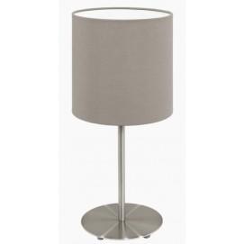 Лампа настольная Eglo 95726 Pasteri серо-коричневая