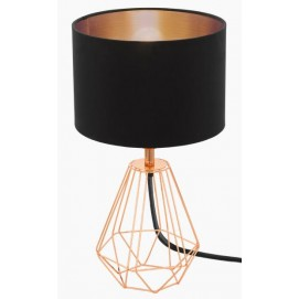 Лампа настольная Eglo 95787 Carlton 2 черная