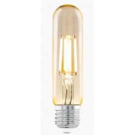 LED лампочка Эдисона T32 3,5W 2200K Amber янтарное стекло