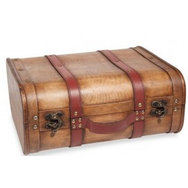 Сундук MALAWI GYPSET 30 x 36 cm коричневый 164036 Maisons