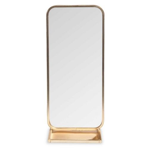 Зеркало настольное PORTOBELLO H 32 cm золото 161848 Maisons