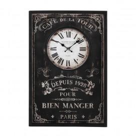 Часы  40 x 60 cm BRASSERIE черные 146107 Maisons