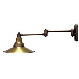 Светильник настенный 2091-1 золото Pikart