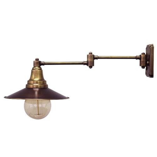 Светильник настенный 2091-1 темная патина Pikart