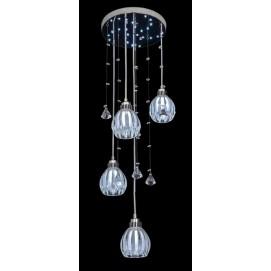 Люстра 8.5109-3+1 LED прозрачный Best