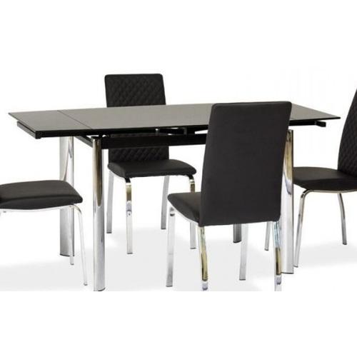 Стол обеденный раскладной GD-019 черный Signal