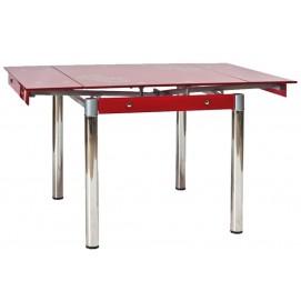 Стол обеденный раскладной GD-082 красный Signal