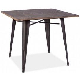 Стол обеденный Almir графит+орех Signal
