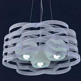 Лампа подвесная 7076207-3 белый цвет Levada
