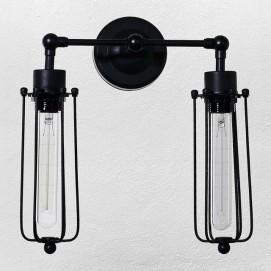 Светильник настенный 720W81355-2 черный Thexata