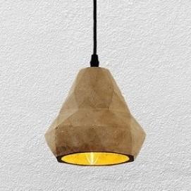 Лампа подвесная 72081388-1 (beton) серая Thexata