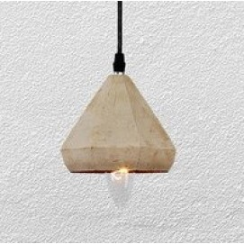 Лампа подвесная 72081389-1 (beton) серая Thexata