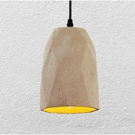 Лампа подвесная 72081390-1 (beton) серая Thexata