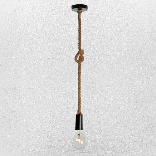 Лампа подвесная 72081053-1 коричневая Thexata