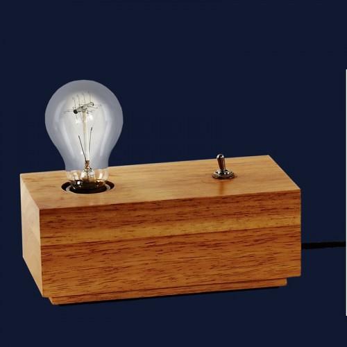 Лампа настольная 72081469-1 WOOD натуральная Thexata