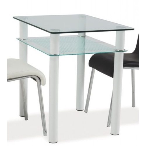 Стол обеденный Sono 80X60 см белый Signal