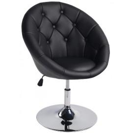 Кресло полубарное C-881 черное Signal