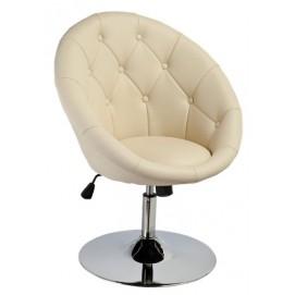 Кресло полубарное C-881 крем Signal есть 1шт