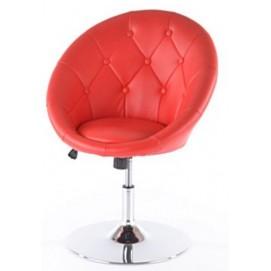 Кресло полубарное C-881 красное Signal