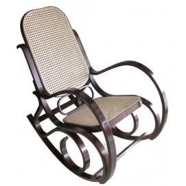 Кресло качалка Gordon коричневое-3 Signal