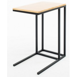 Столик для ноутбука Снек натуральный Anri ноги черные