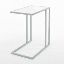 Столик для ноутбука Альмео белый Anri ноги серые