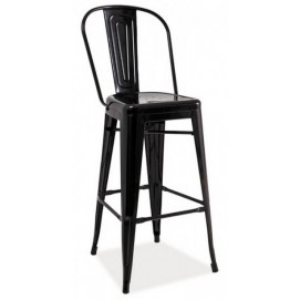 Кресло барное Loft H-1 черное Signal