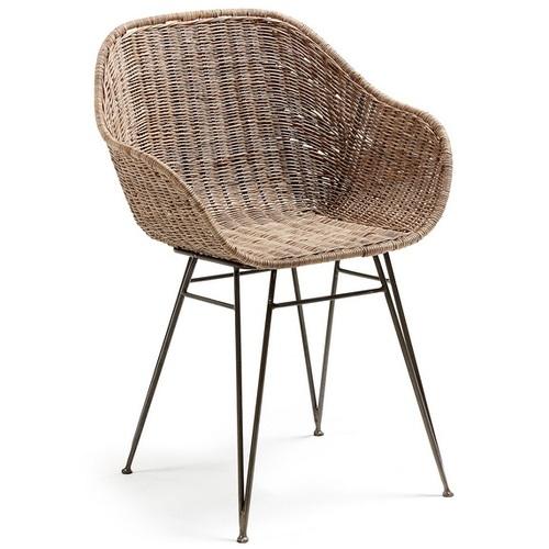 Кресло CC0073FN46 - CHARLEY натуральное Laforma
