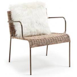 Кресло CC0075FN46 - CLIFFY коричневое Laforma