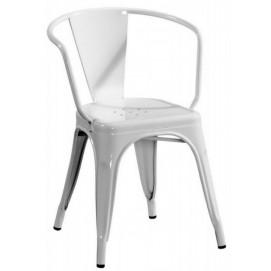 Кресло Tolix MC-005A белое Primel