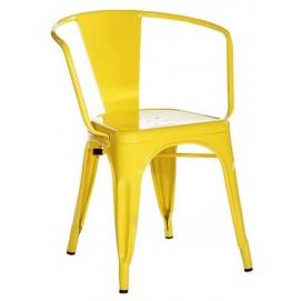 Кресло Tolix MC-005A желтое Primel есть 1шт