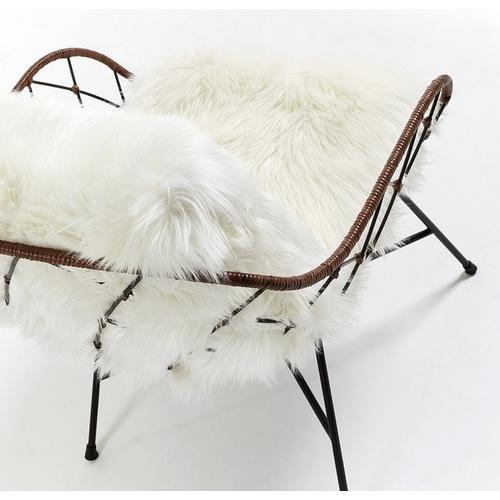 Кресло CC0074J05 - CLAQUE натуральное подушка белая Laforma