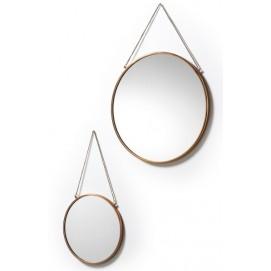 Набор зеркал AA0331R54 - NIKO Set 2 шт медь Laforma