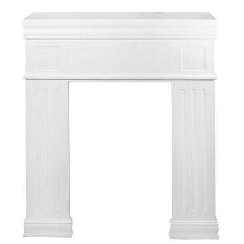 Фальш-камин Лондон белый SS002957 Woodville
