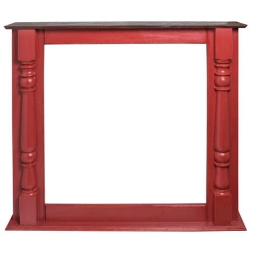Фальш-камин Верона красный SS001435 Woodville