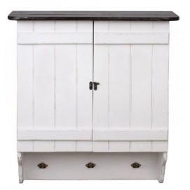 Шкаф навесное Лион белый SS001969 Woodville
