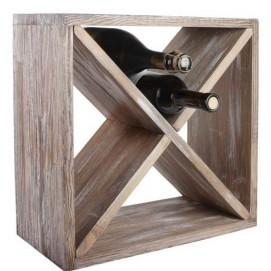 Подставка для вина Бунгало натуральная SS003403 Woodville