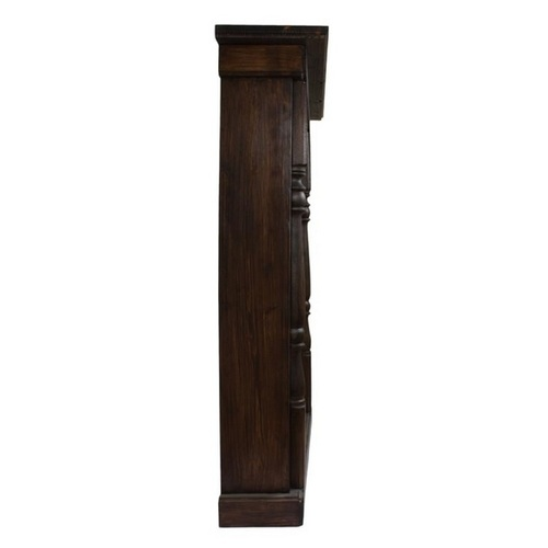 Фальш-камин Париж коричневый SS000765 Woodville