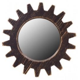 Зеркало Цюрих черное SS003487 WilleWood