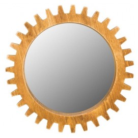 Зеркало Цюрих желтое SS003487 WilleWood