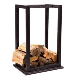 Подставка для дров Техас черная SS003435 Woodville